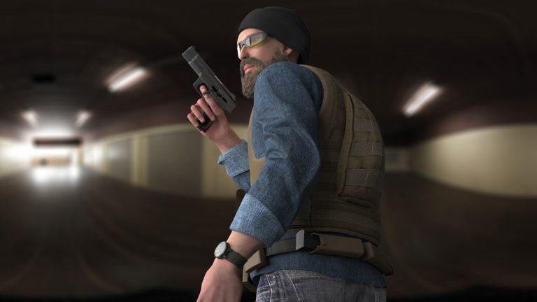 agent 3d model