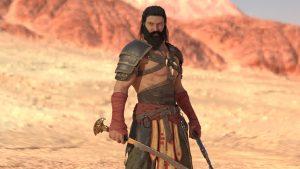 ancient warrior 3d model